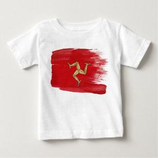 Isle of Man Flag Baby T-Shirt