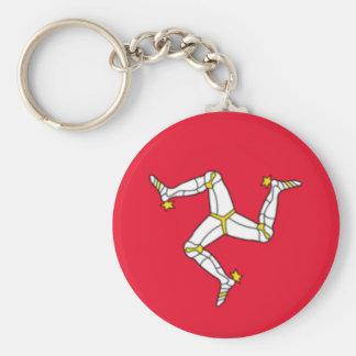 Isle of Man Flag Key Ring