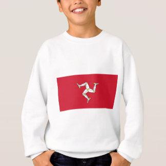 Isle of Man Flag - Manx Flag - Brattagh Vannin Sweatshirt