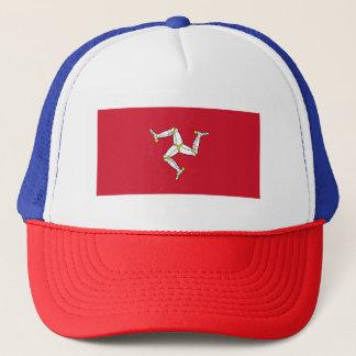 Isle of Man Flag - Manx Flag - Brattagh Vannin Trucker Hat