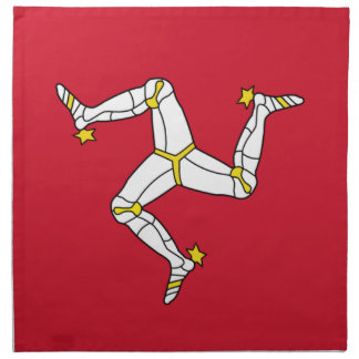 Isle of Man Flag on MoJo Napkin