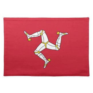 Isle of Man Flag on MoJo Placemat