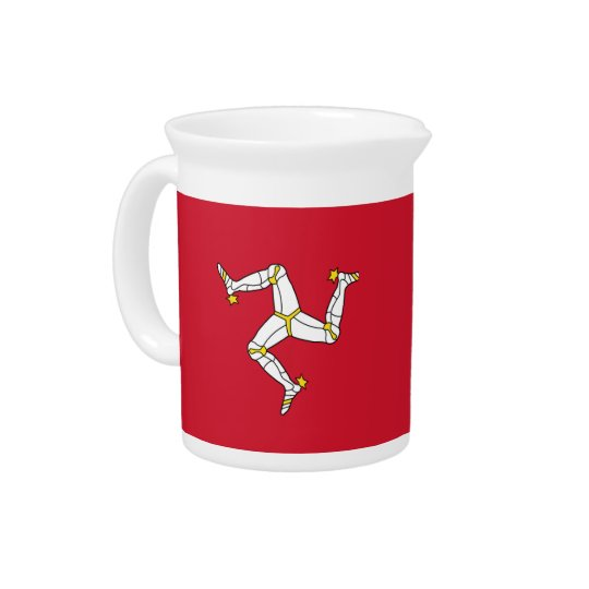 Isle of Man Flag Pitcher