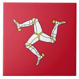 Isle of Man Flag Tile