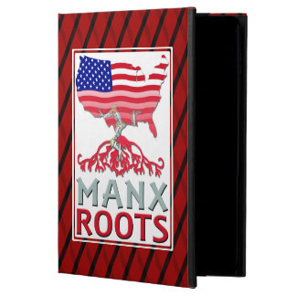 Isle of Man Manx American iPad Cover