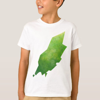 Isle Of Man Map T-Shirt