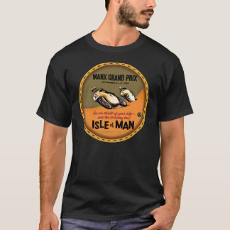 Isle of Man Motorcycle grand prix sign T-Shirt