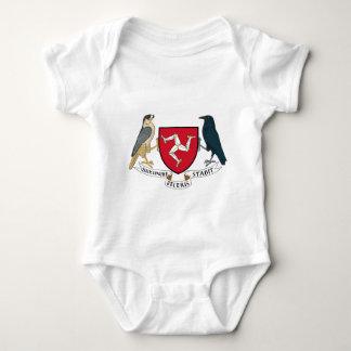 Isle of Man Republican Coat of Arms - Manx Emblem Baby Bodysuit