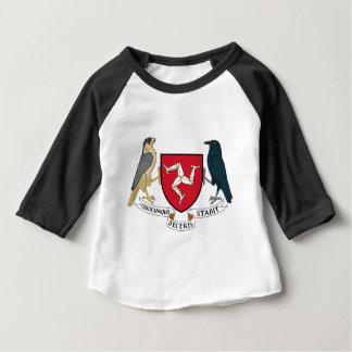 Isle of Man Republican Coat of Arms - Manx Emblem Baby T-Shirt