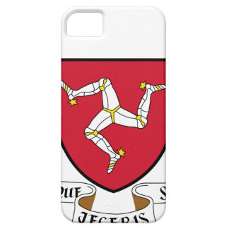 Isle of Man Republican Coat of Arms - Manx Emblem iPhone 5 Covers