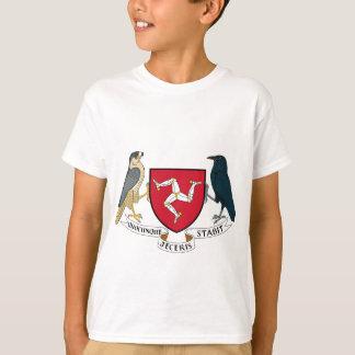 Isle of Man Republican Coat of Arms - Manx Emblem T-Shirt