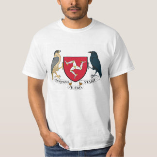Isle of Man Republican Coat of Arms - Manx Emblem T-Shirt
