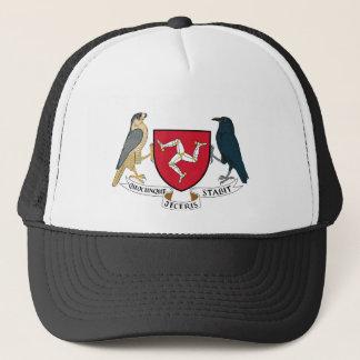 Isle of Man Republican Coat of Arms - Manx Emblem Trucker Hat