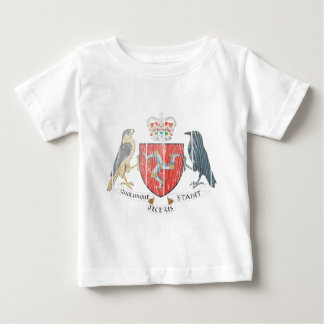 Isle Of Mann Coat Of Arms Baby T-Shirt