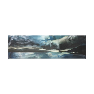 Isle of Mull Panorama Canvas
