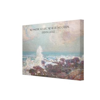 Isle of Shoals Seascape Canvas Wrap
