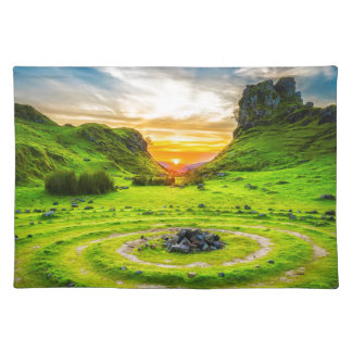Isle of Sky Valley Placemat