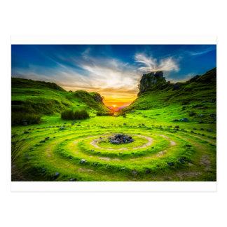 Isle of Sky Valley Postcard