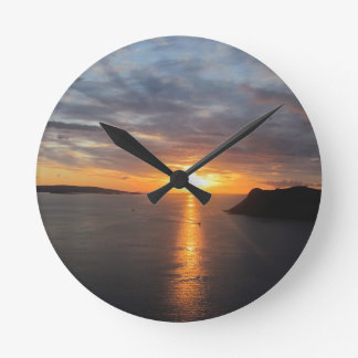 Isle of Skye Gifts Round Clock