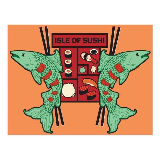 Isle of Sushi Postcard