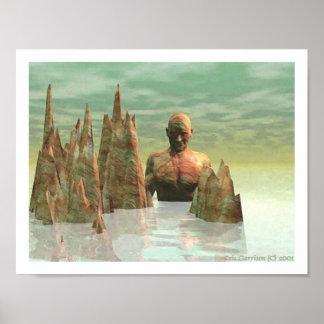 Isle of the Chameleon Titan Poster