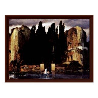 Isle Of The Dead (V),  By Böcklin Arnold Postcard