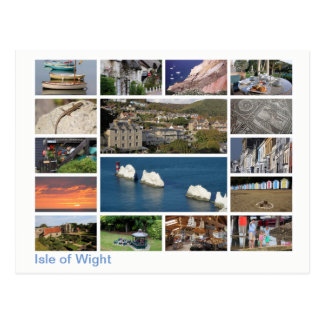 Isle of Wight multi-image 2 Postcard