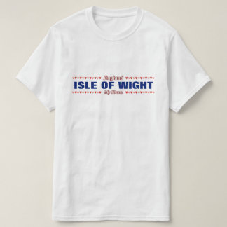 ISLE OF WIGHT - My Home - England; Hearts T-Shirt