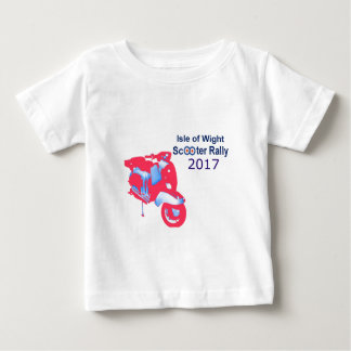 Isle of Wight Scooter Rally 2017 Baby T-Shirt