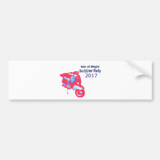 Isle of Wight Scooter Rally 2017 Bumper Sticker