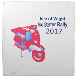 Isle of Wight Scooter Rally 2017 Napkin