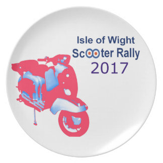 Isle of Wight Scooter Rally 2017 Plate
