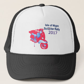 Isle of Wight Scooter Rally 2017 Trucker Hat