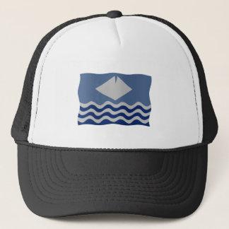 Isle or Wight flag Trucker Hat