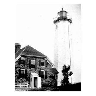 Isle Royale Lighthouse Postcard