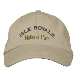 Isle Royale National Park Embroidered Hat