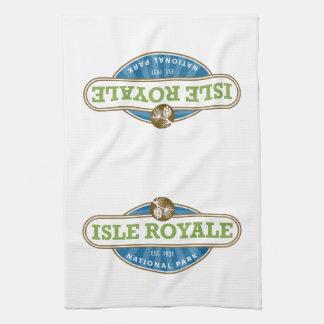 Isle Royale National Park - Michigan Tea Towel