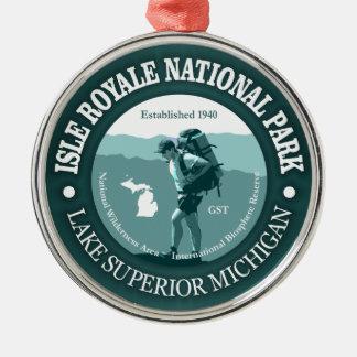 Isle Royale NP Metal Ornament