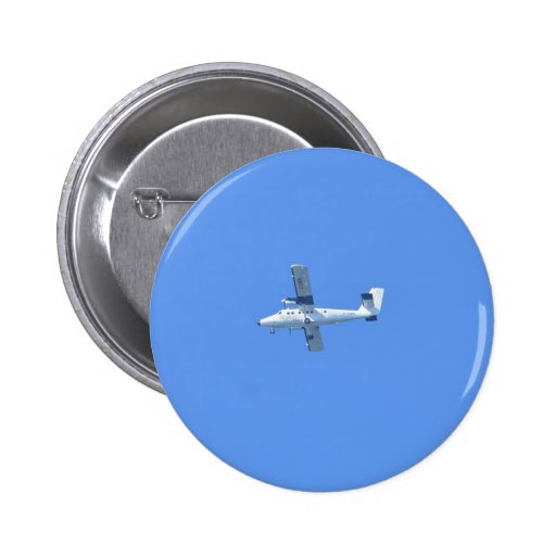 Isles Of Scilly Skybus Pinback Buttons