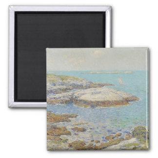 Isles of Shoals, 1899 (oil on canvas) Fridge Magnet