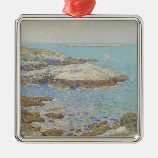 Isles of Shoals, 1899 (oil on canvas) Metal Ornament