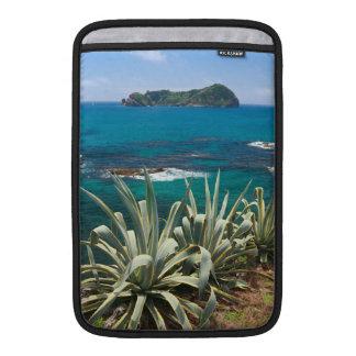 Islet and coastal vegetation MacBook sleeve