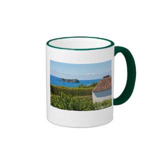 Islet in Azores Ringer Mug