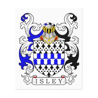 Isley Coat of Arms II Canvas Prints