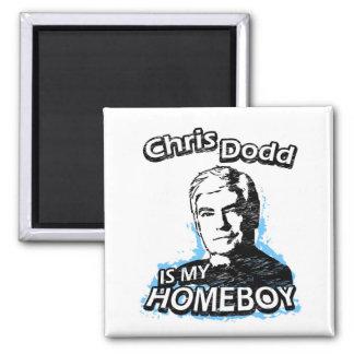 ismyhomeboy - Chris Dodd Square Magnet