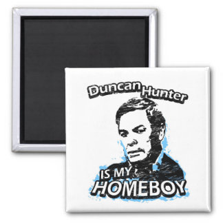 ismyhomeboy - Duncan Hunter Square Magnet