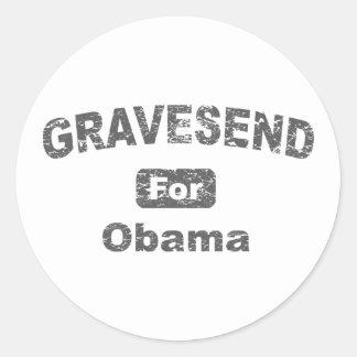 ismyhomeboy - Gravesend For Obama Sticker