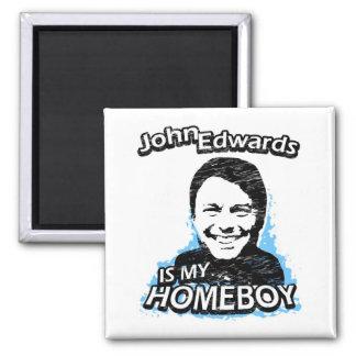 ismyhomeboy - John Edwards Magnets