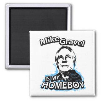 ismyhomeboy - Mike Gravel Fridge Magnet
