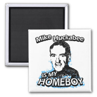 ismyhomeboy - Mike Huckabee Square Magnet